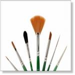 7915 - Paint Supplies : AW Advance Penselen set