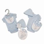 7632 - Clothing : Baby's Blauw