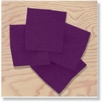 380104 - Accessories : Dark Purple Felt