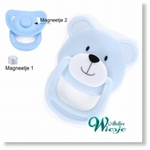 792026 - Accessories : Reborn doll speen Blauw - Beer