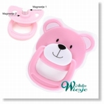 792027 - Accessories : Reborn Pacifier Pink - Bear -Soon available