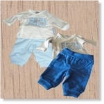 7632 - Clothing : Baby's Blue