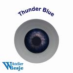 630200 - Eyes : Polyglass ogen Thunder Blue