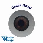 630400 - Eyes : Polyglass ogen  Chuck Hazel