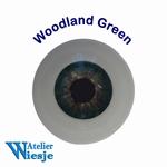 631000 - Eyes : Polyglass ogen  Woodland Green