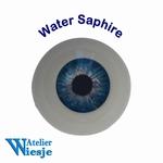 631400 - Eyes : Polyglass ogen  Water Saphire
