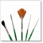 7914 - Paint Supplies : AW Basis penselen set