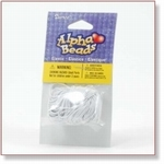 7708 - Accessories : Elastic Beading String 9 mtr white