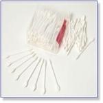 7407 - Paint Supplies : Spec wattestaafje met punt