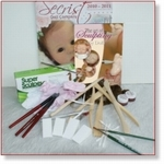 6313 - Modelleer Set:  voor  een mini baby (15 cm)